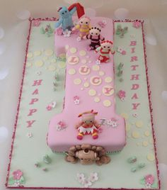 In The Night Garden 1st Birthday cake - Cake by Yvonne Beesley
