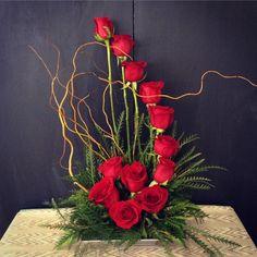 on Arreglos de flores Rosen Arrangements, Creative Flower Arrangements, Funeral Flower Arrangements, Flower Centerpieces, Flower Decorations, Floral Arrangements, Church Flowers, Funeral Flowers, Altar Flowers