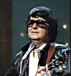 Roy Orbison Performing Color Photo
