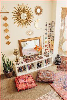 Meditation Raumdekor, Meditation Room Decor, Yoga Room Decor, Room Decor Boho, Yoga Studio Decor, Meditation Cushion, Wall Decor, Home Yoga Room, Yoga Bedroom