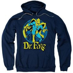 Dr. Fate Ankh Adult Pull-Over Hoodie