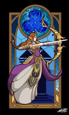 Zelda Princess of Wisdom by YamiBliss on DeviantArt