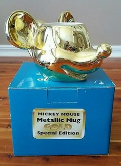 Applause Mickey Mouse Gold Special Edition Mug BRAND NEW!