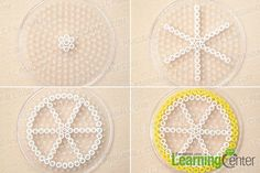 Tutorial on how to make perler bead coasters