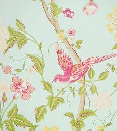"Std Wp Summer Palace Egg - Wallpaper width: 53cm (21"") Roll Length: 10m (33') - Wallpaper"