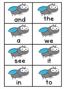 Swat! Freebie!   Mrs. Bohaty's Kindergarten Kingdom
