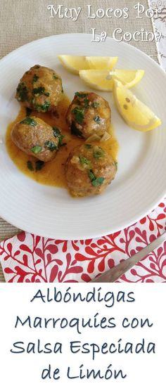 Recipes Using Meatballs, Comida Armenia, My Favorite Food, Favorite Recipes, Salsa, Albondigas, Recipe Using, Pork, Beef