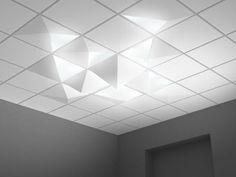W système plafond lumineux édité par Alter @Susan Caron Caron Florence-Moore @We Rock Esprit Design