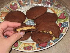 Runs for Cookies Recipes: Peanut Butter Chocolate Cookies