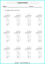 Solve the 2 digit long division problem and use your basic division skills. Great grade 3 or 4 tail division worksheet for math students who are introduced to long division. Math Tutor, Math Teacher, Math Classroom, Teacher Stuff, Homeschool Math, Homeschooling, Curriculum, 3rd Grade Spelling Words, Math Minutes