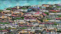 Urban  landscape  by  luigi  rabellino