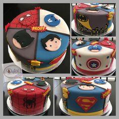 Superhero cake                                                                                                                                                                                 More