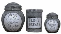 Nightmare Before Christmas Ceramic Storage