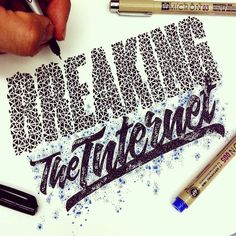 calligraphy by Juantastico