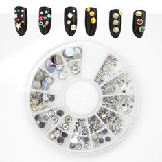 $0.88 Find More Rhinestones & Decorations Information about Mix Sizes Acrylic…