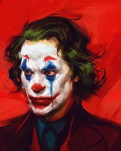 The Comic Ninja - Joker by Viktor Miller-Gausa Cute Couple Art, Joker Art, Realistic Art, Art, Batman Joker, Cute Disney Wallpaper, Comics