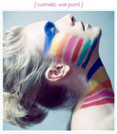 Earn Your Stripes #cosmetic #makeup #photography
