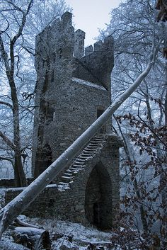 Ruins of Karlsburg by mrdevlin, via Flickr
