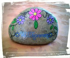 Painted Stone by Kathleen Podzorsky