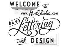 Lettering by Neil Tasker