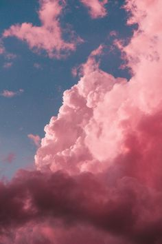 pink dreams III Art Print by matialonsor Pink Clouds Wallpaper, Night Sky Wallpaper, Galaxy Wallpaper, Baby Pink Aesthetic, Aesthetic Roses, Sky Aesthetic, Aesthetic Backgrounds, Aesthetic Iphone Wallpaper, Aesthetic Wallpapers