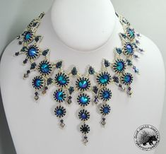 Seraphina of Thornton Necklace Pattern par GQHPatternsandKits, $15.00