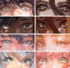"Eye Drawings ѕєσ @ comms : "" I love Digital Painting Tutorials, Digital Art Tutorial, Art Tutorials, Realistic Eye Drawing, Art Anime, Anime Eyes, Eye Art, Pretty Art, Copics"