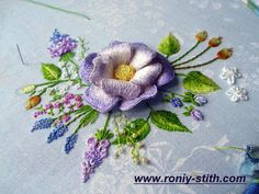 3D embroidery design  @ Afshan Shahid