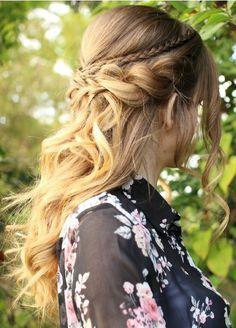 04 penteados semi presos para usar já!