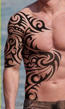 30 best tribal tattoo designs for mens arm tattoo. Black Bedroom Furniture Sets. Home Design Ideas