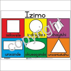 shapes in isizulu - Google Search