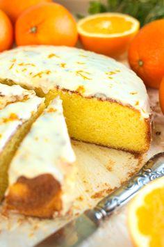 Sycylijskie ciasto pomarańczowe Cookie Recipes, Keto Recipes, Dessert Recipes, Cheesecake Pops, Pavlova, No Bake Cake, Love Food, Breakfast Recipes, Food Photography