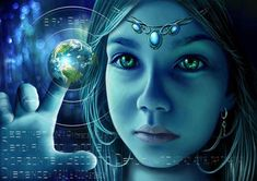 "The Indigo Children Individuals who are here to bring about the New Age of Peace. Indigo children are often psychic and sensitive and have an internal ""lie Les Religions, Spirit Science, Star Children, Adhd Children, Star Kids, One Life, New Age, Spiritual Awakening, Spiritual Enlightenment"