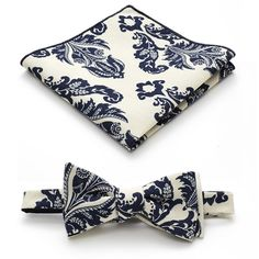 Avery Bow Tie And Pocket Square by Everett