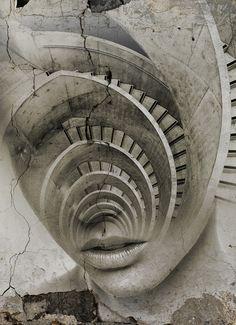 Parfois, on a l'impression de tourner en rond. / By Antonio Mora.