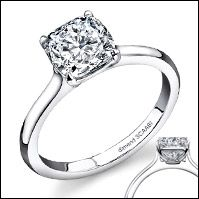 3 stone pave' ring.