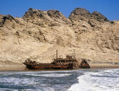The Eerie Shipwrecks of Namibias Skeleton Coast