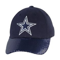 Adjustable | Hats | Womens | Cowboys Catalog | Dallas Cowboys Pro Shop ($20) ❤ liked on Polyvore featuring accessories, hats, cowgirl hats, western hats, adjustable hats and cowboy hat