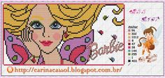 Barbie Butterfly perler bead pattern by Carina Cassol