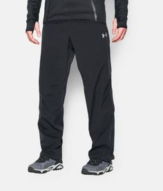 Shop Under Armour for Men's UA ArmourStorm® Sonar Waterproof Pants in our Mens Bottoms department.  Free shipping is available in US.