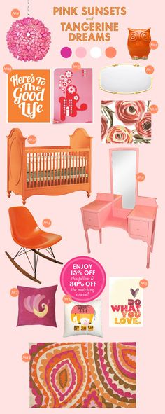 105 best Orange Nursery images on Pinterest | Babies nursery, Child ...