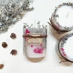 xmas限定のボタニカルキャンドル*✲゚*。✧数量限定で明日から販売です(,,ơvơ,,)♡ #chubby_round #handmade#natural#materials #aroma#candle#soywaxcandles #essentialoil#botanical #flower#herb#dryflower #present#gift#minne #ボタニカル#アロマ#キャンドル #自然素材#ハンドメイド #インテリア#プレゼント #ギフト#クリスマス