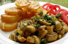 Potato Salad, Stuffed Mushrooms, Food And Drink, Potatoes, Cooking Recipes, Vegetables, Ethnic Recipes, Per Diem, Author