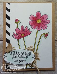 Beth's Paper Cuts: Helping Me Grow set from Stampin' Up!