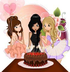 ┌iiiii┐                                                              Happy Birthday Happy Birthday Pictures, Happy Birthday Quotes, Happy Birthday Greetings, Birthday Images, Birthday Clipart, It's Your Birthday, Girl Birthday, Birthday Card Sayings, Birthday Messages