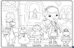 371 best Doc McStuffins images on Pinterest | Toys, Coloring pages ...