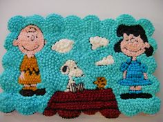 snoopy cake: I WANT!