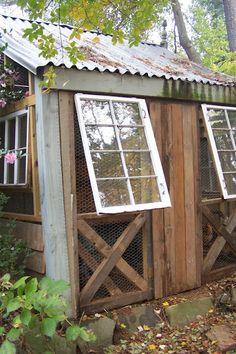 TARA DILLARD: Chinoiserie Coop, Repurposed Materials