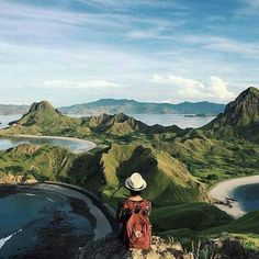 Padar Island, Flores. INDONESIA #exploreindonesia Beautiful World, Beautiful Places, Bali Lombok, Komodo Island, World Pictures, Traveling With Baby, Family Adventure, Historical Sites, Asia Travel