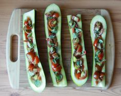 Zucchini Stuffed with Tomato and Mozzarella - Five Little Homesteaders, the recipe is lower in the post under a guide on getting to know various squash varieties